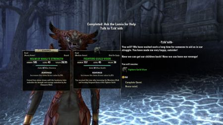 eso online into the woods