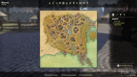 how to delete quest eso