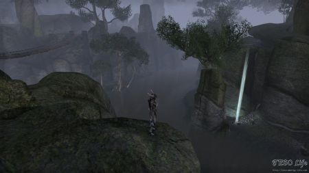 Down In The Gorge Of Rope Bridges Skyshard - ESO Life