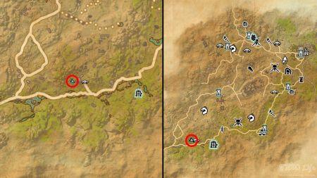 Eso Elsweyr Skyshards Location Map Eso Life