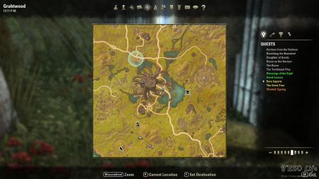 Basic zone info for ESO gold hunters