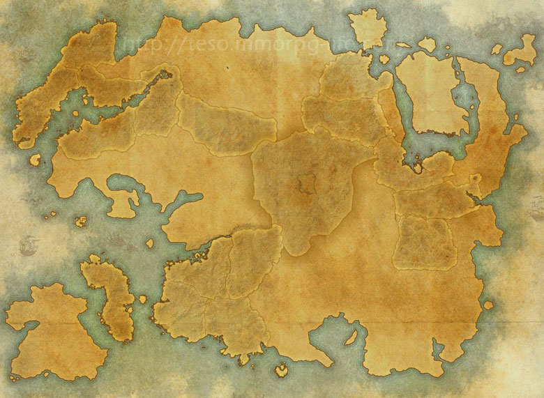 map of tamriel skyshards