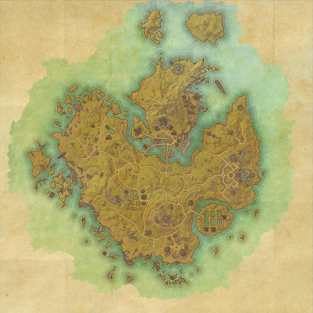 ESO Khenarthi\'s Roost Skyshards Location Map - ESO Life