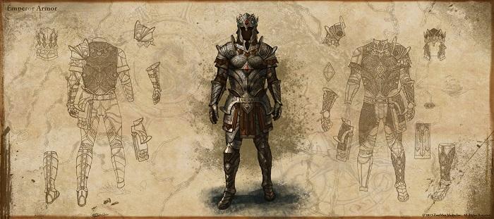 ESO Emperor Armor concept