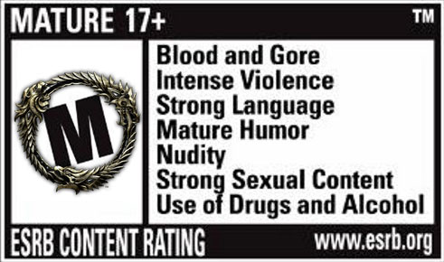 TESO mature rating