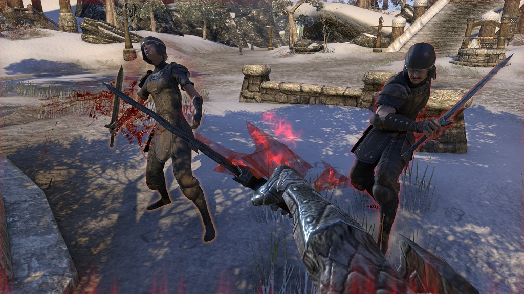 TESO press beta first impressions