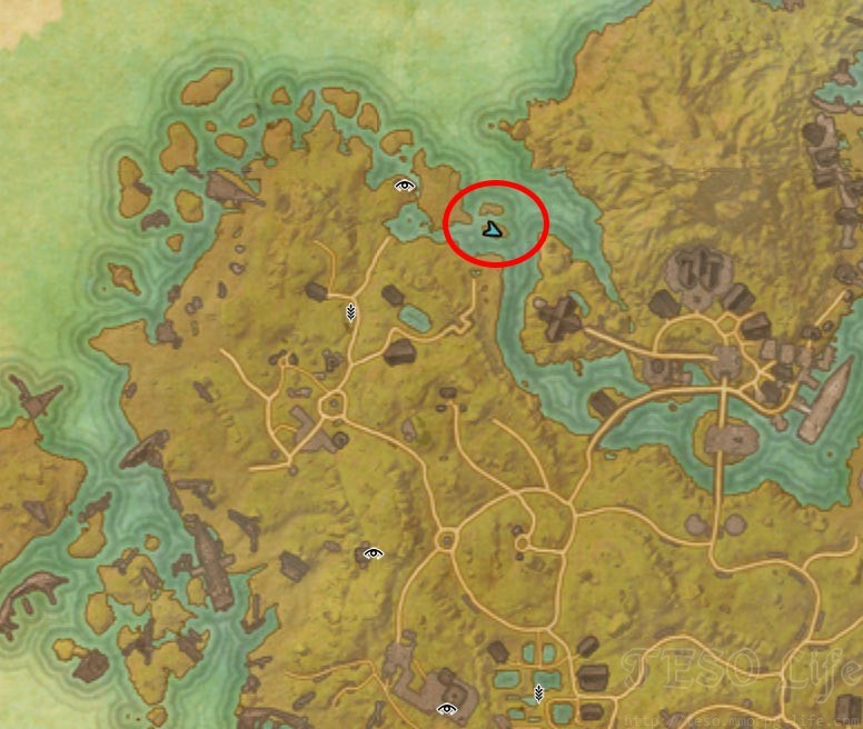 Khenarthi's Roost CE Treasure Map II location