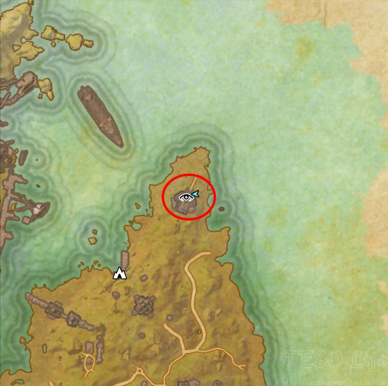 Khenarthi's Roost Treasure Map IV loc
