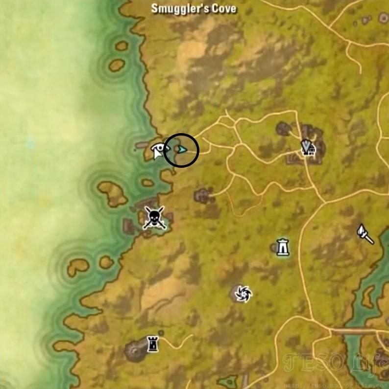 auridon treasure map 3 location