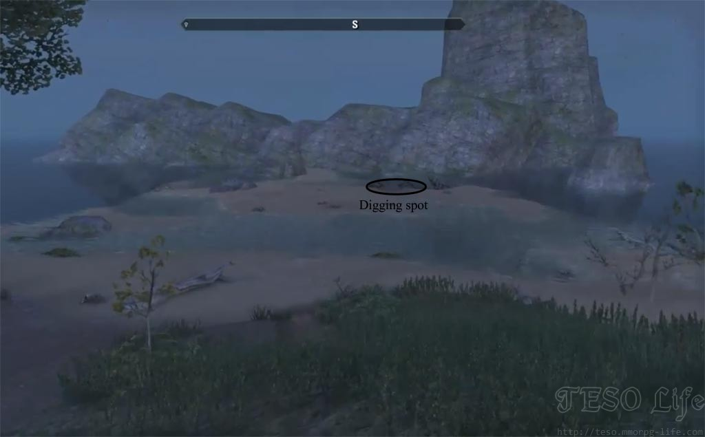 eso Betnikh Treasure Map II digging spot