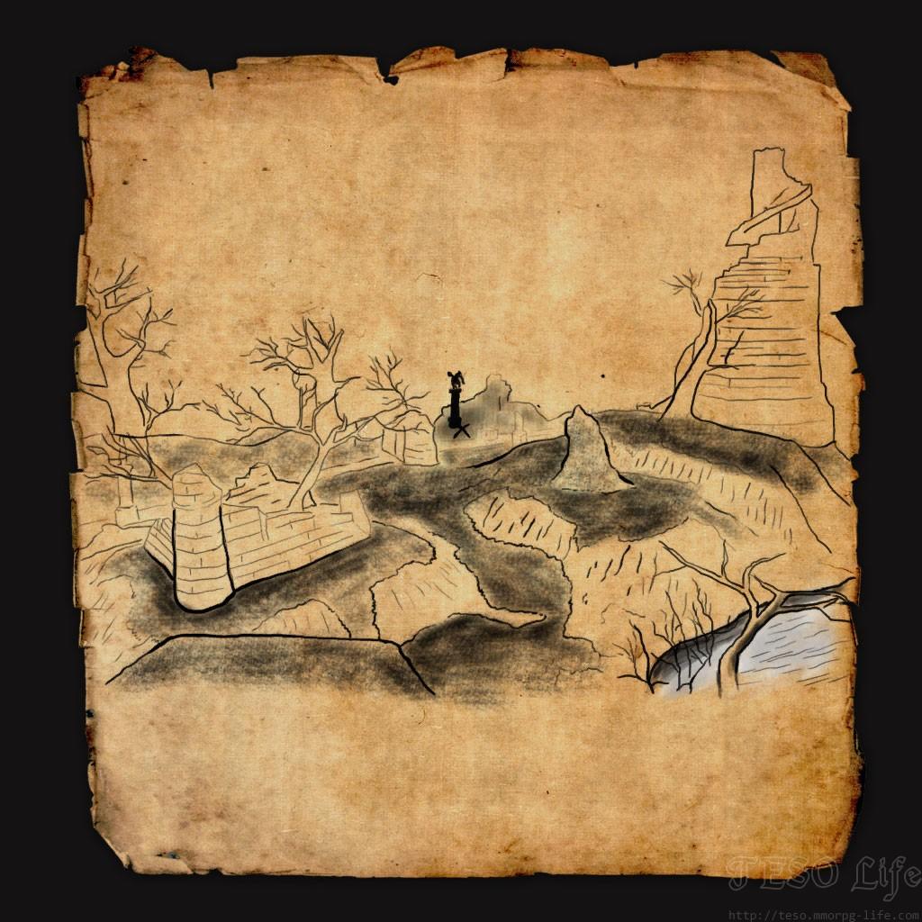 eso Glenumbra CE Treasure Map
