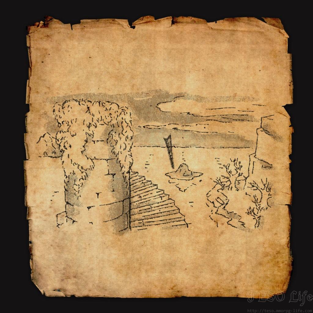 eso Glenumbra Treasure Map IV