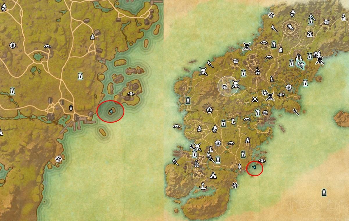 Glenumbra Treasure Map I loc