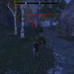 eso Glenumbra Treasure Map V digging location
