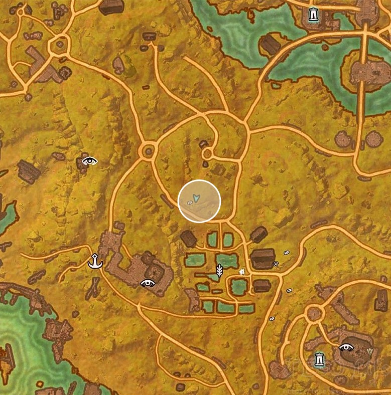 Khenarthi's Roost Treasure Map III location