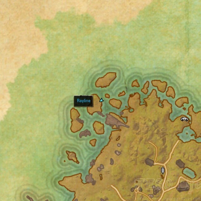 eso Khenarthis Roost Treasure Map II location