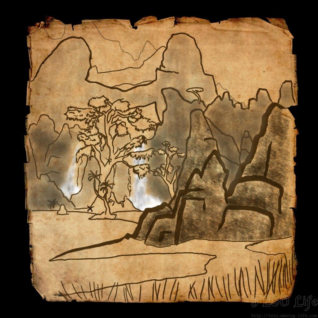 Stonefalls CE Treasure Map