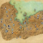 eso Stonefalls Treasure Map III world location