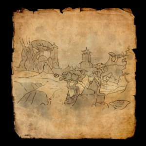 eso Stonefalls Treasure Map IV