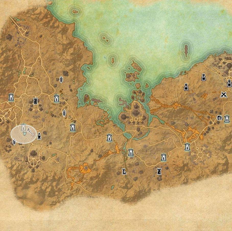 Eso Coldharbour Treasure Map Locations Guide Eso Life ...