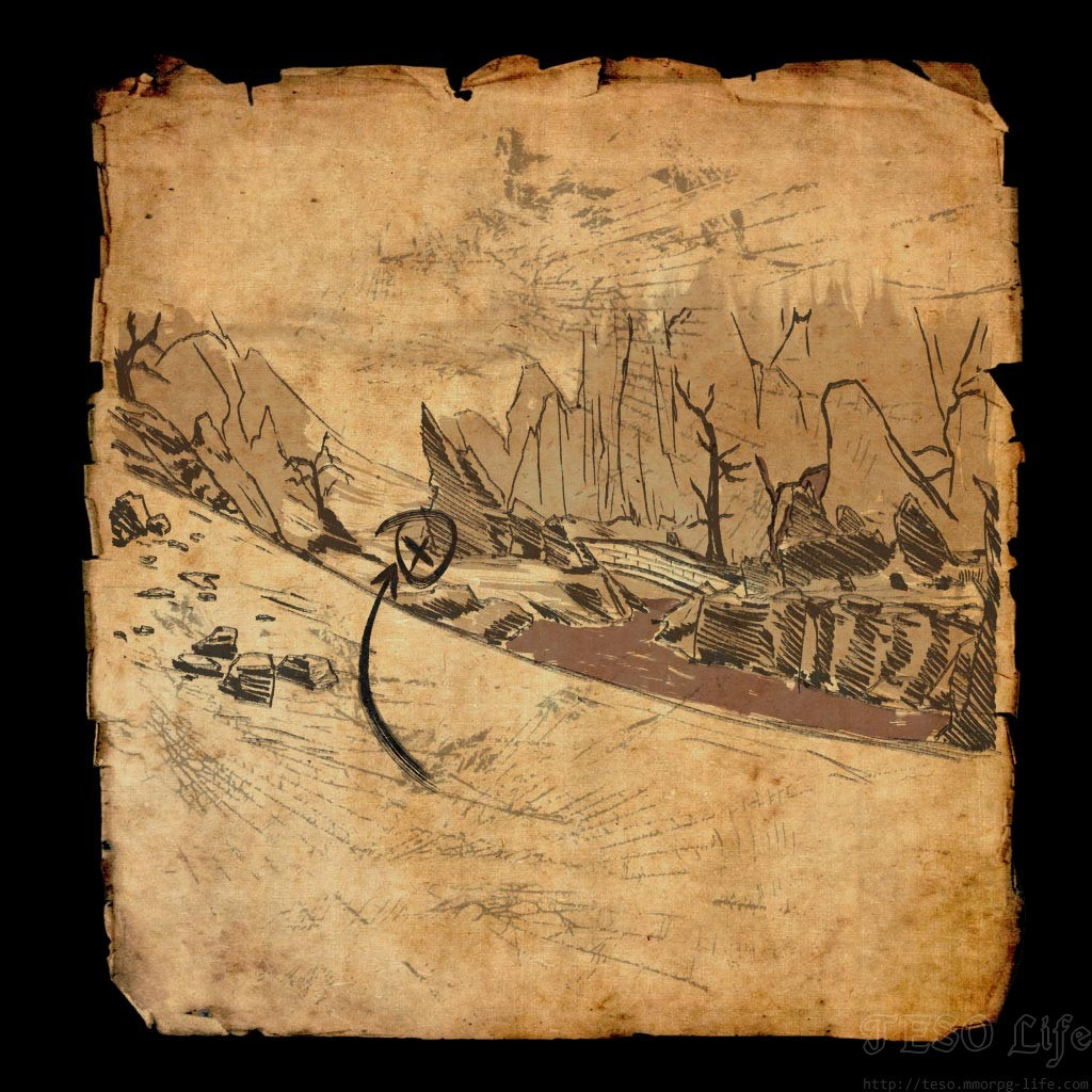 Stonefalls Treasure Map VI