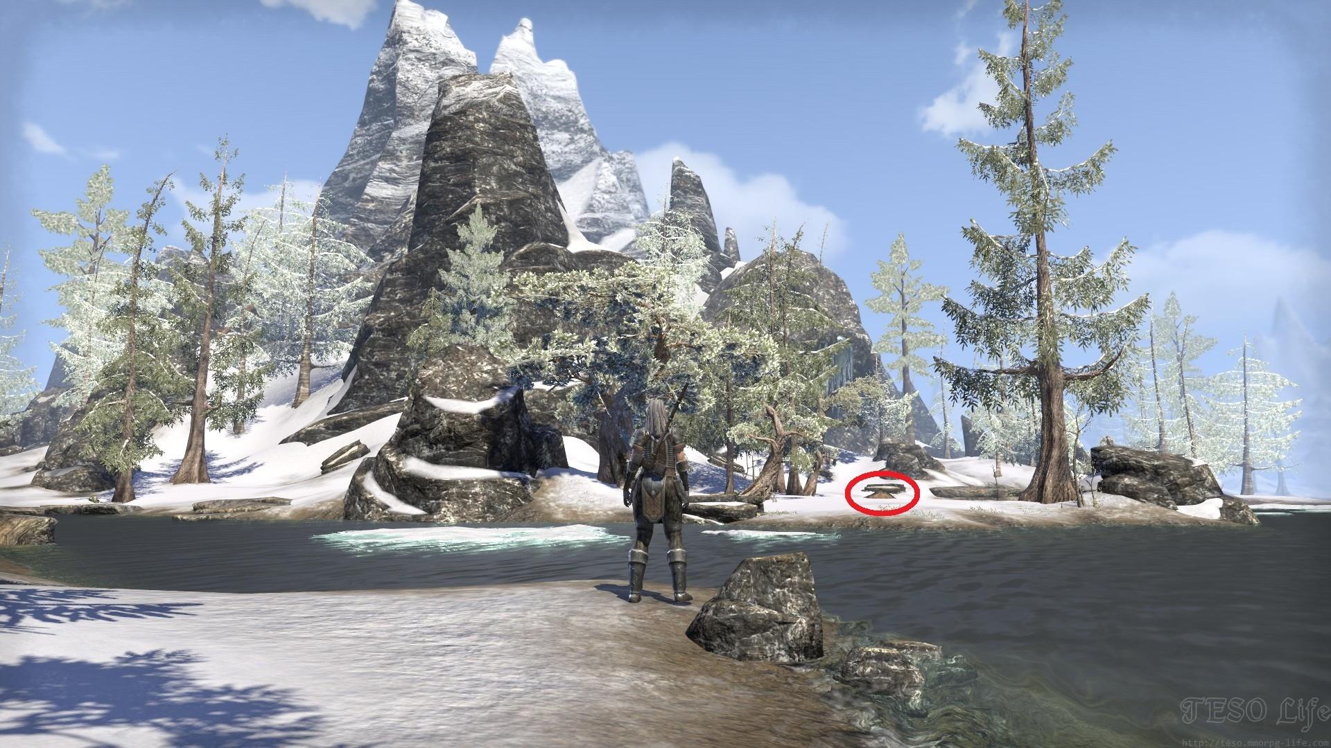 Bleakrock Treasure Map II Hidden Treasure Location