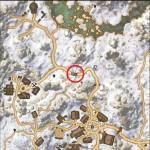 Map Location of Hidden Treasure of Treasure Map I