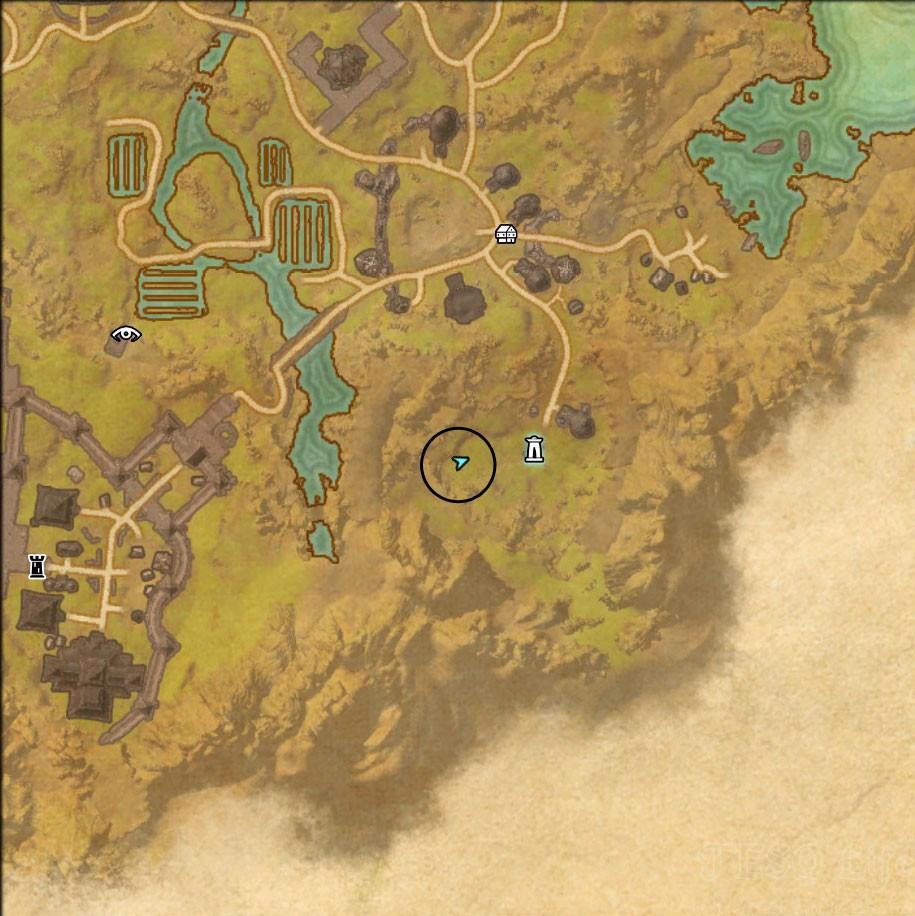 Bal Foyen Treasure Map I location