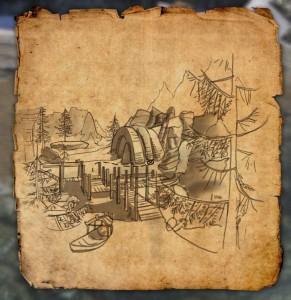 Bleakrock CE Treasure Map