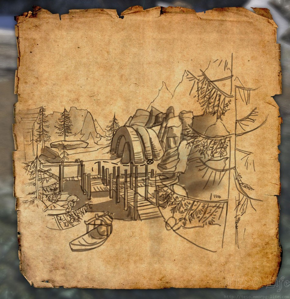 Bleakrock CE Treasure Map
