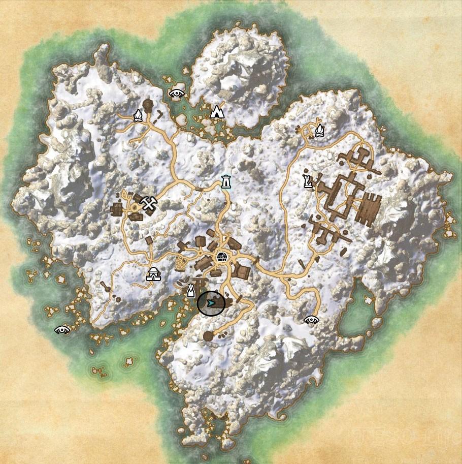 eso Bleakrock CE Treasure Map world loc ESO Life