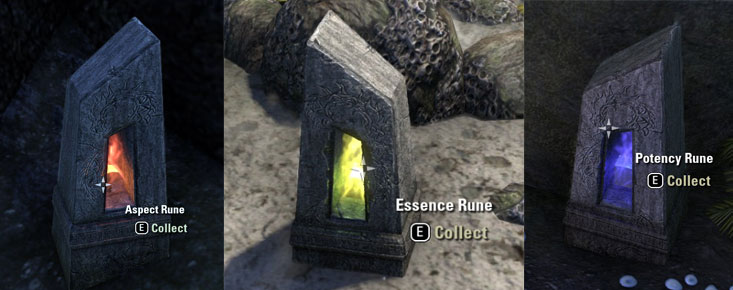 eso aspect Potency Essence runestones