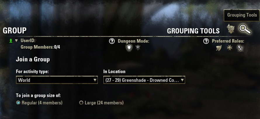 eso looking for group