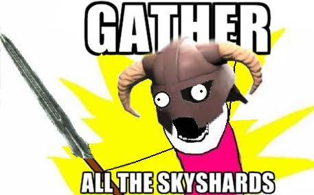 gather all the skyshards!