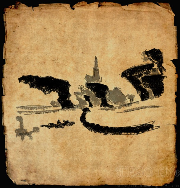 auridon treasure map 1