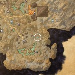 Coldharbour Treasure Map IV Dig Location