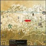 Cyrodiil Treasure Map XI location