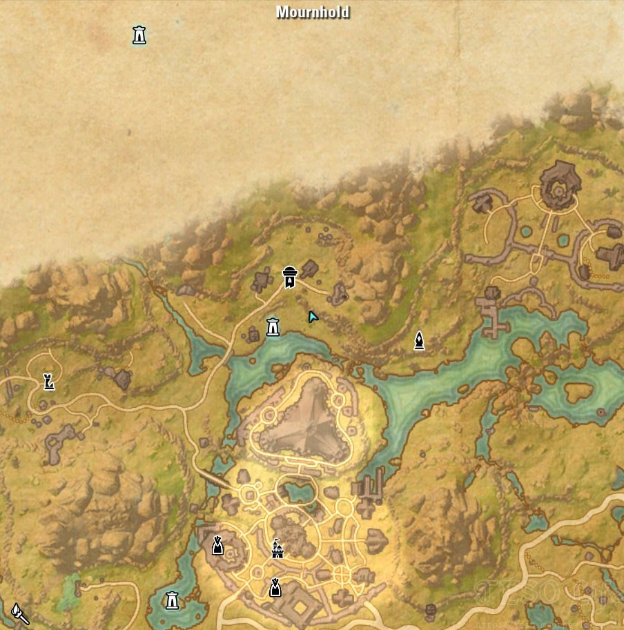 Deshaan Treasure Map III location