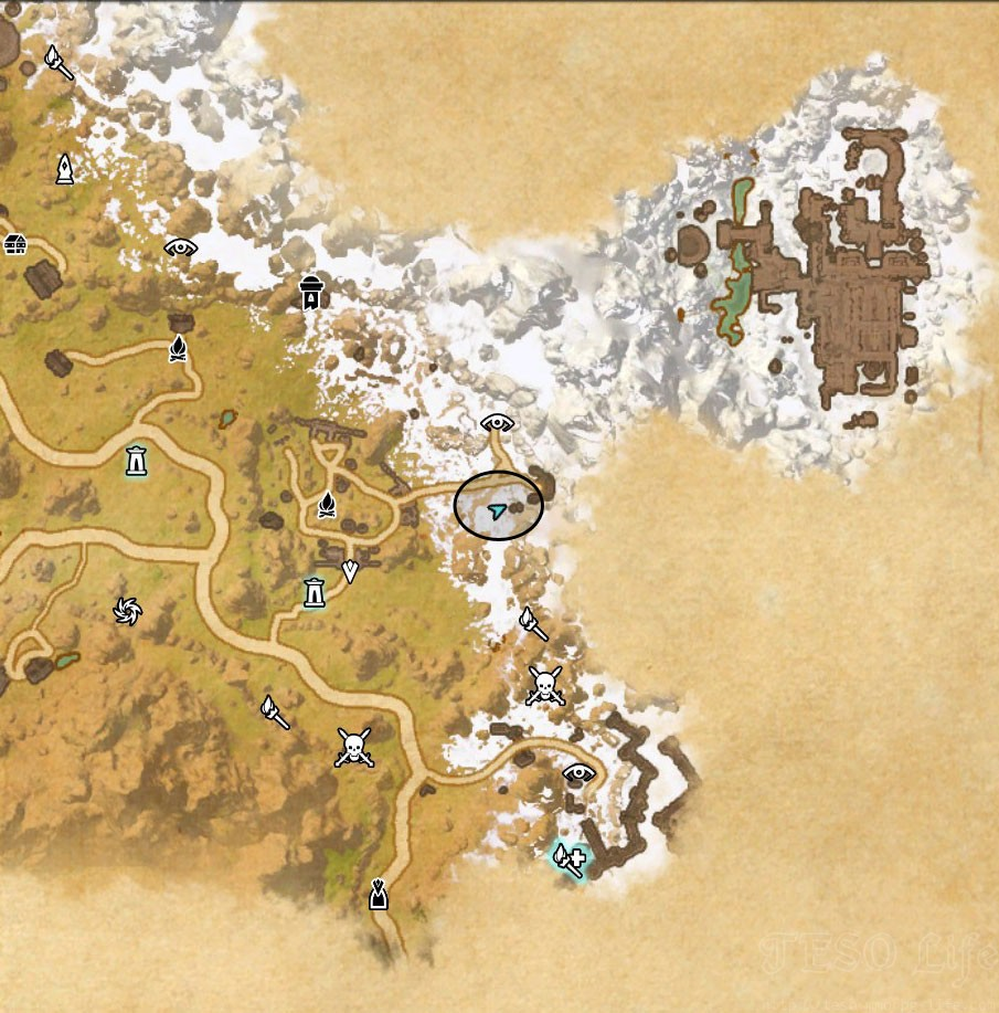 Eastmarch CE Treasure Map location