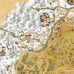 Eastmarch Treasure Map II location