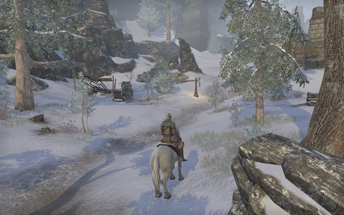 Eastmarch Treasure Map V in game