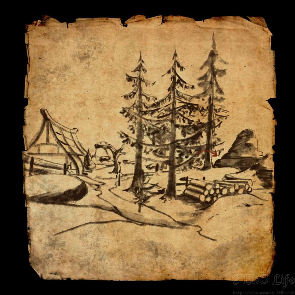 Eastmarch Treasure Map VI