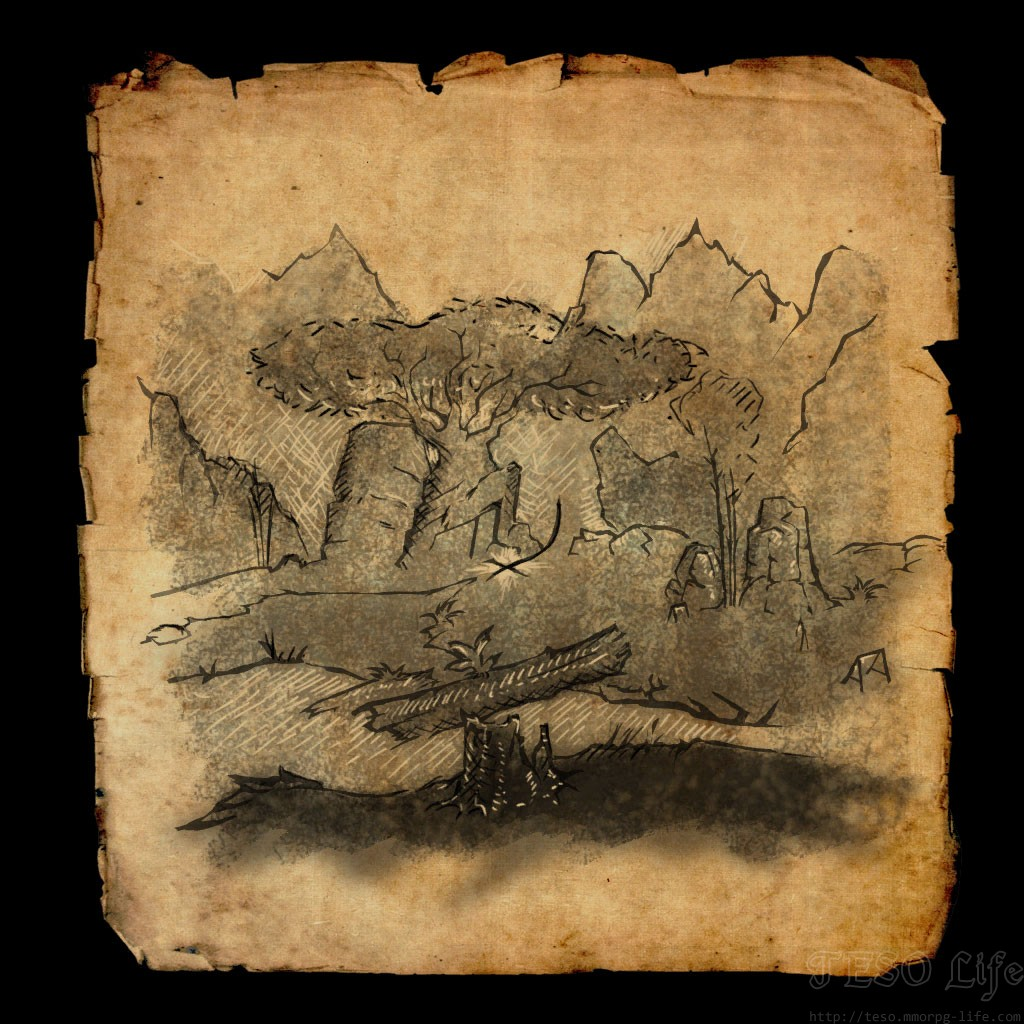 Greenshade Treasure Map I