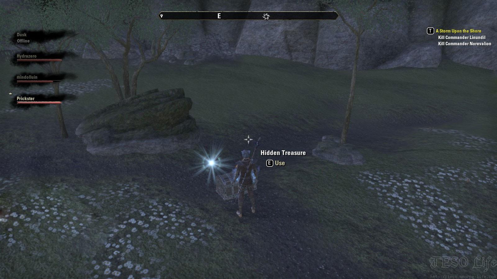 Greenshade Treasure Map II chest