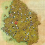 Greenshade Treasure Map III world location