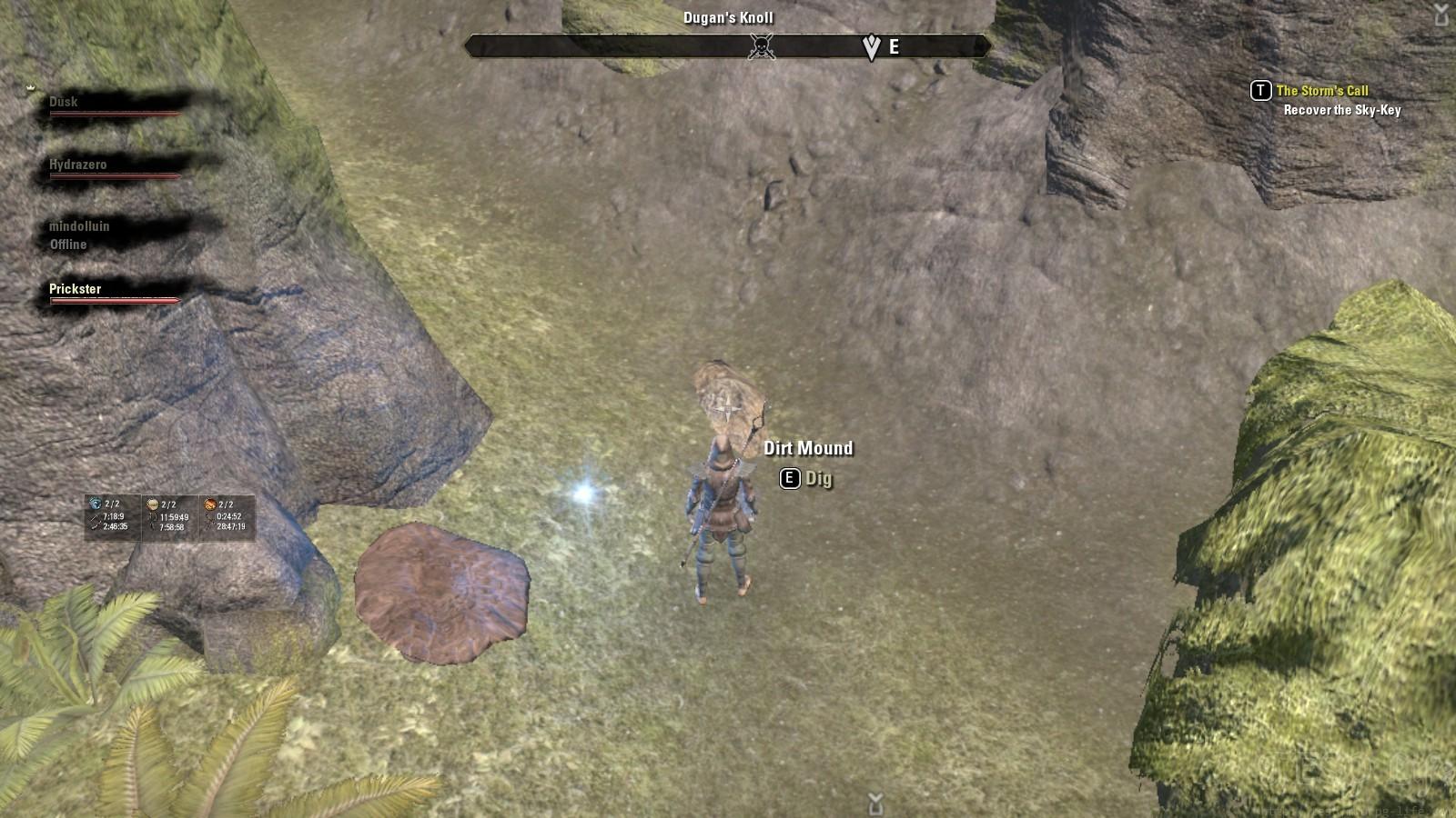 Malabal Tor Treasure Map I in game