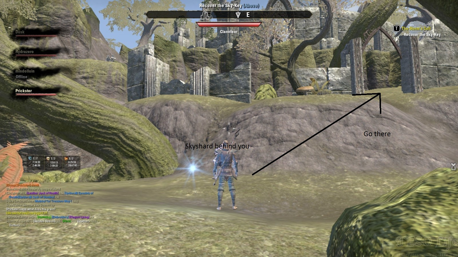 Malabal Tor Treasure Map I in game