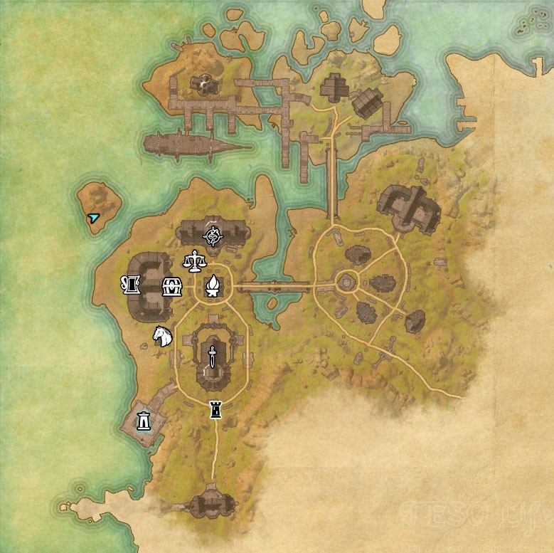 malabal tor treasure map location
