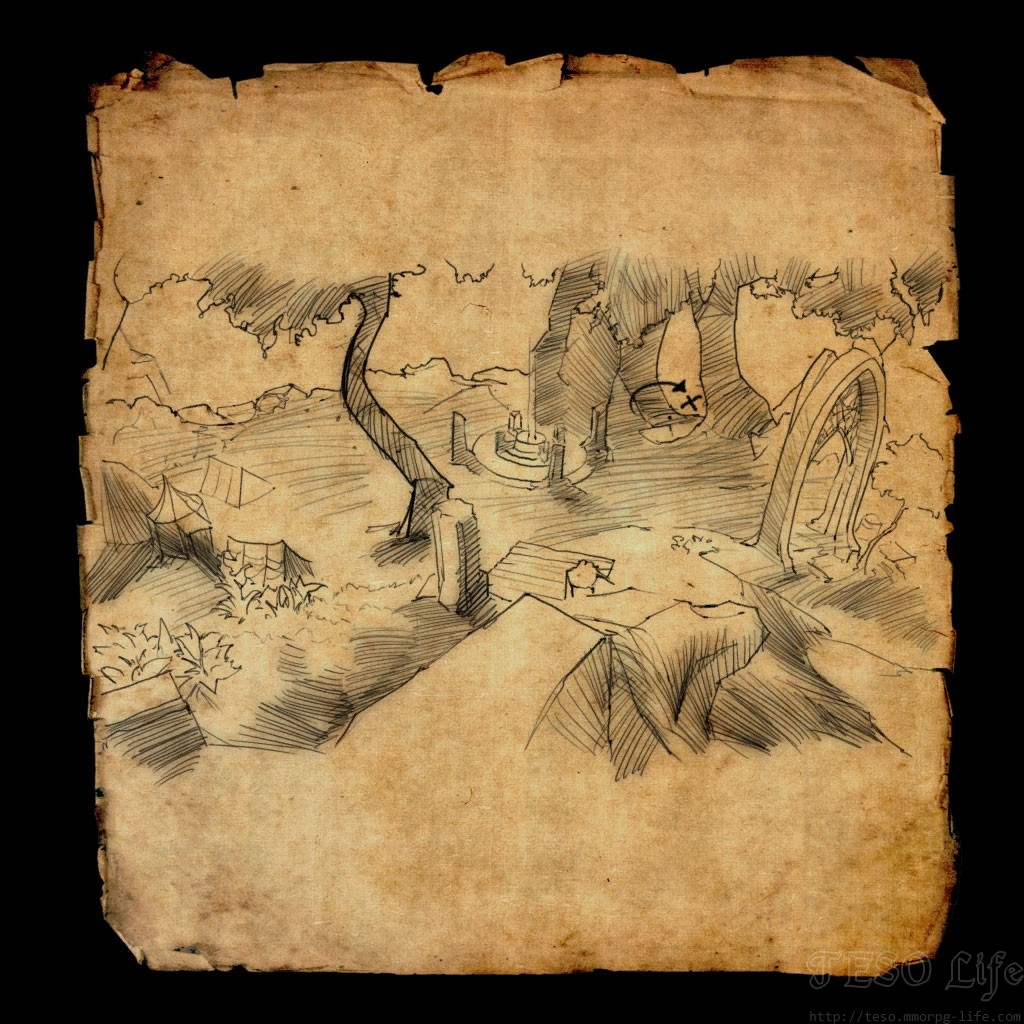 ESO Malabal Tor Treasure Map Locations Guide on