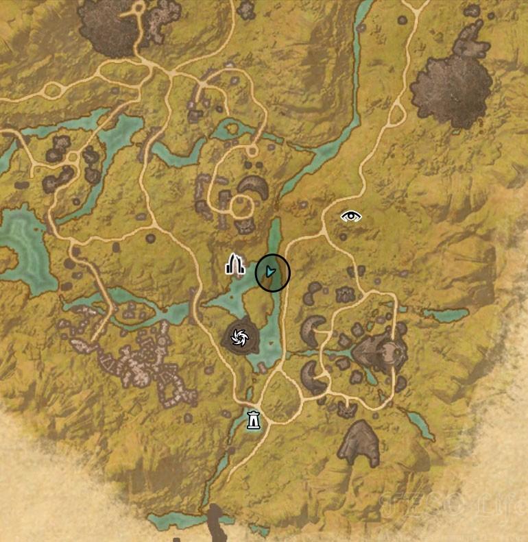 malabal tor treasure map IV location